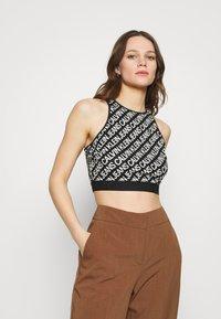 Calvin Klein Jeans - MILANO LOGO - Top - black - 0