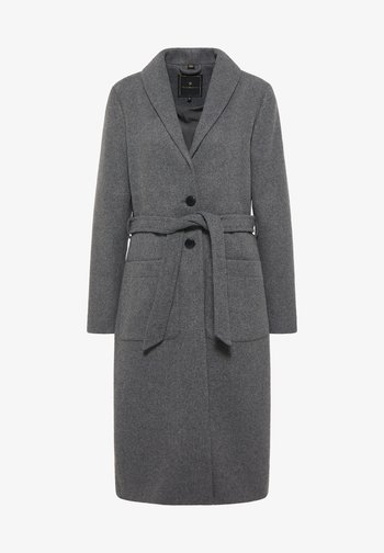 Classic coat - grau melange