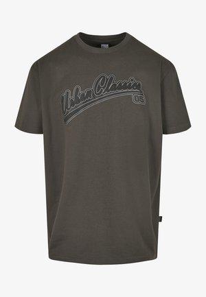 Print T-shirt - blackbird