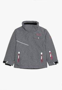 TrollKids - GIRLS HOVDEN JACKET - Ski jacket - grey melange/magenta - 2