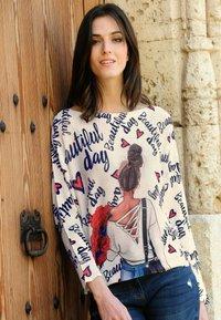 Alba Moda - Sweatshirt - off-white,marineblau - 5