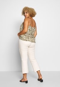 ONLY Carmakoma - CARTRIPLE SINGLET - Blouse - oatmeal - 2