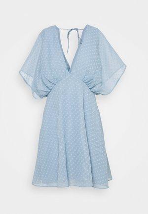 VAAL SHORT DRESS - Kjole - dusty blue