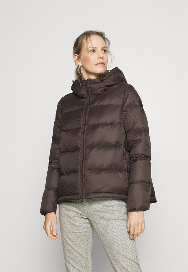 Down jacket - brown