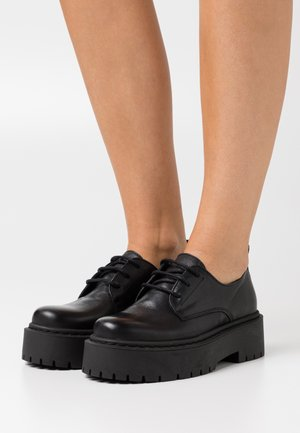 BIADEB LACED SHOE - Nauhakengät - black