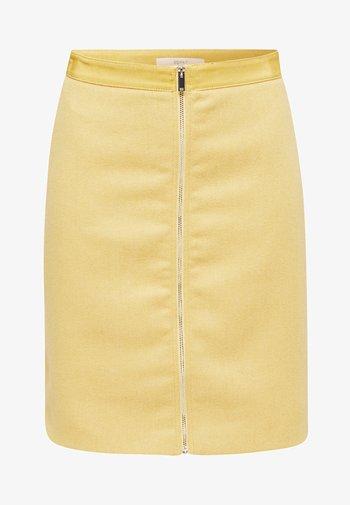 A-line skirt - yellow
