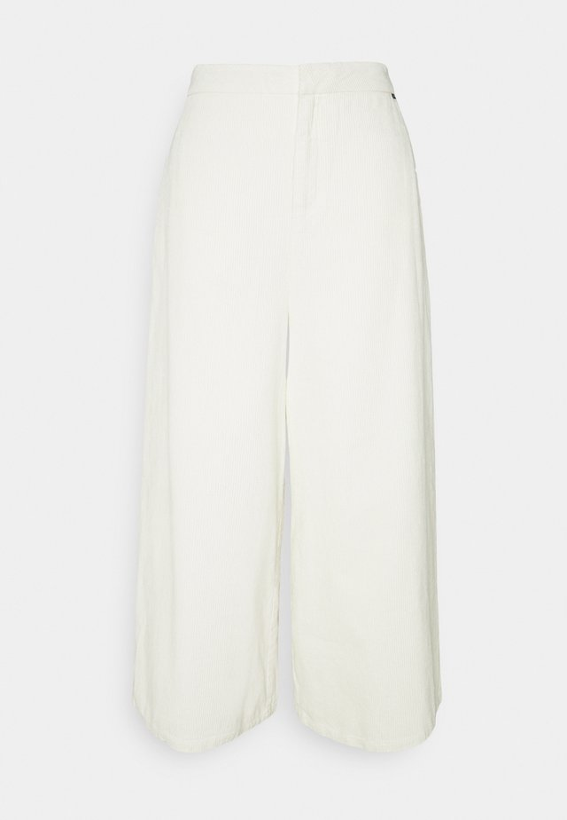BLEACH PANTS - Kangashousut - off white