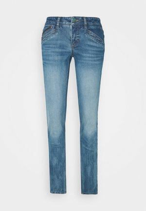 KAYLEE - Slim fit jeans - blue denim