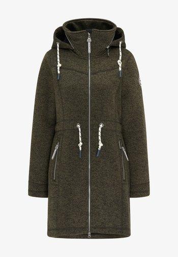 Short coat - oliv melange