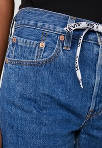 Levi's® - 501 HR LOGODRAW - Shorts vaqueros - draw back