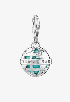 Pendant - silver-coloured/turquoise