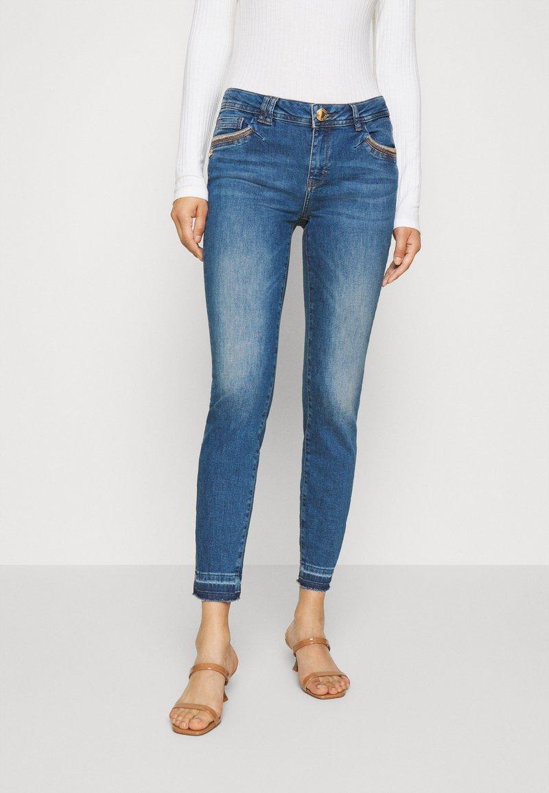 Mos Mosh - SUMNER JEWEL - Jeans Skinny Fit - blue