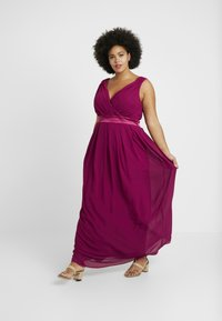 TFNC Curve - KILLY - Robe de cocktail - mulberry - 2