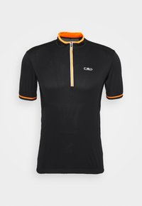 CMP - MAN BIKE - Print T-shirt - nero/orange - 4