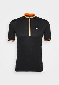 MAN BIKE - T-Shirt print - nero/orange