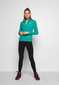 The North Face - WOMEN'S GLACIER 1/4 ZIP - Fleece jumper - jaiden green - 1