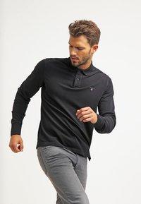 GANT - THE ORIGINAL RUGGER - Polo shirt - black - 0