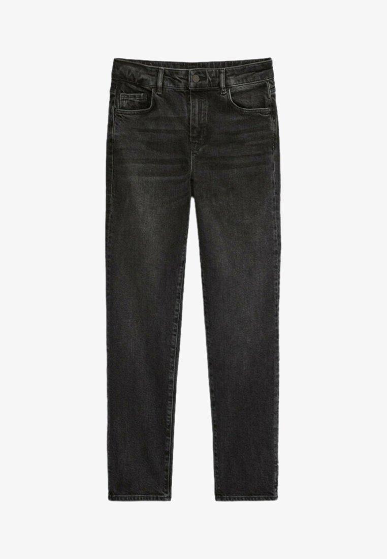Massimo Dutti - Slim fit jeans - black