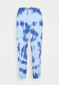 Topshop Petite - SMUDGE TIE DYE JOGGER - Tracksuit bottoms - blue - 3