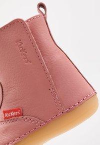 Kickers - SOCOOL  - Nilkkurit - rosé antique - 2