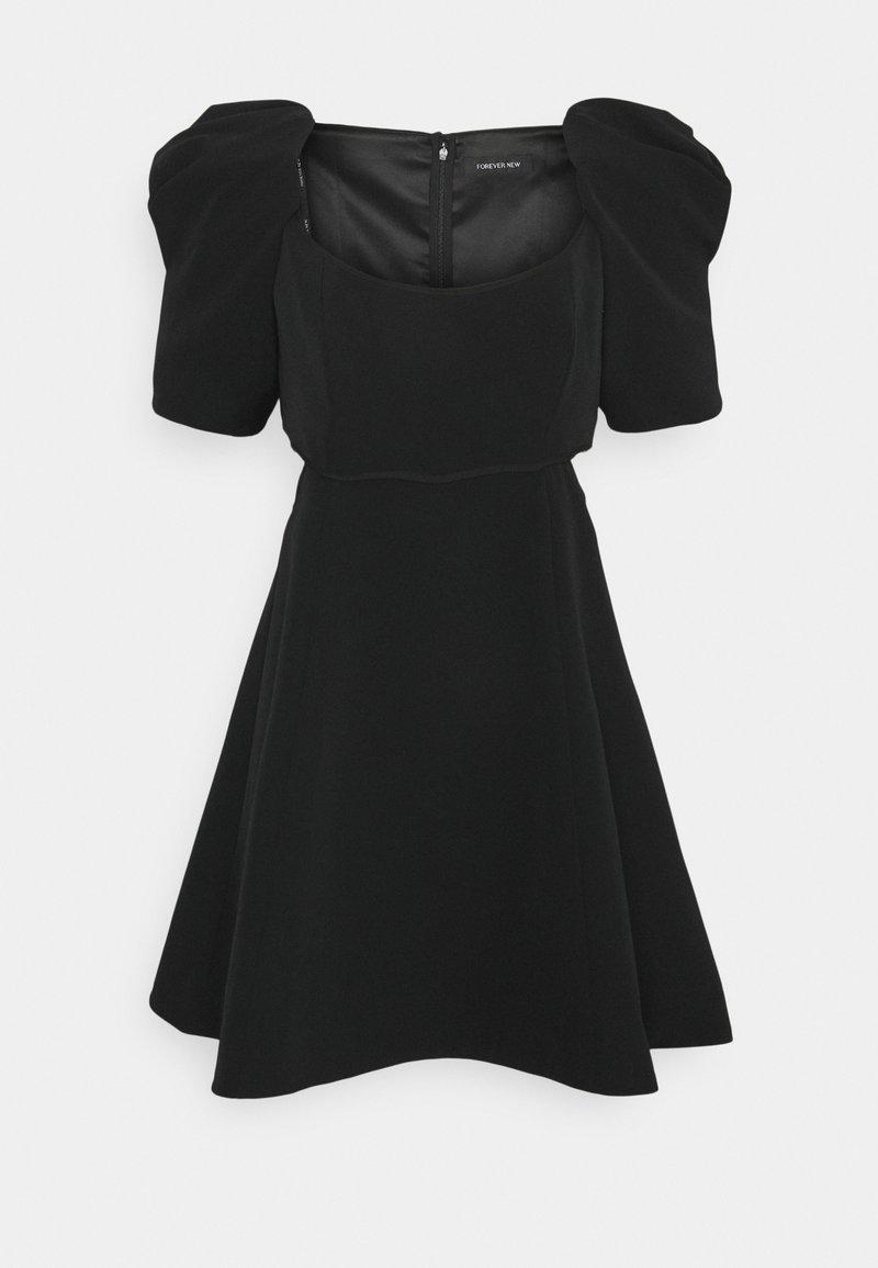 Forever New - WHITNEY WAIST DRESS - Denní šaty - black