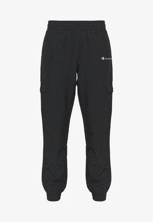 ELASTIC CUFF PANTS - Spodnie treningowe - black