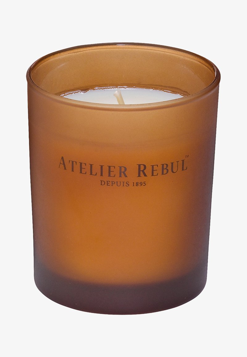 Atelier Rebul - AMBER GEURKAARS 140G - Scented candle - -