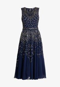 Lace & Beads - EELIA MIDI DRESS - Robe de soirée - navy - 5