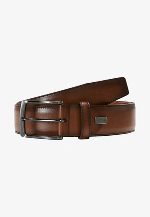 REGULAR BELT - Bælter - cognac