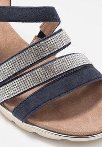 Caprice - Wedge sandals - ocean - 2