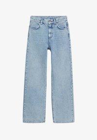 Mango - URBAN - Straight leg jeans - mittelblau - 6