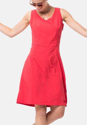 Sports dress - tulip red
