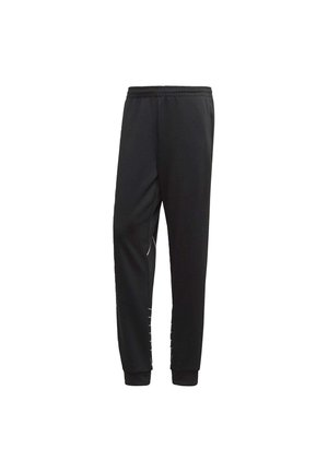 BIG TREFOIL OUTLINE TRACKSUIT BOTTOM - Tracksuit bottoms - black