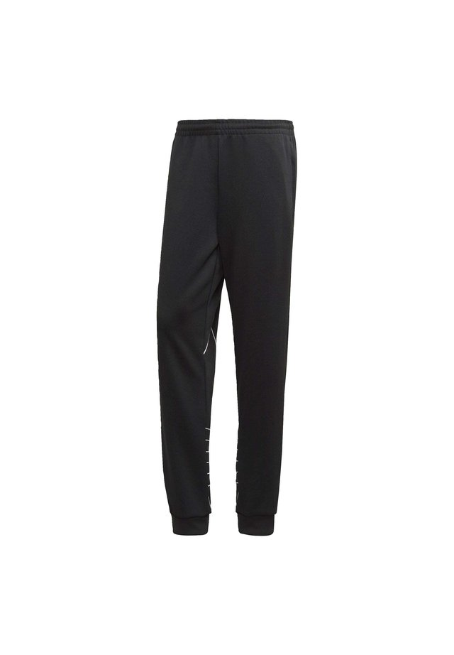 BIG TREFOIL OUTLINE TRACKSUIT BOTTOM - Pantalon de survêtement - black