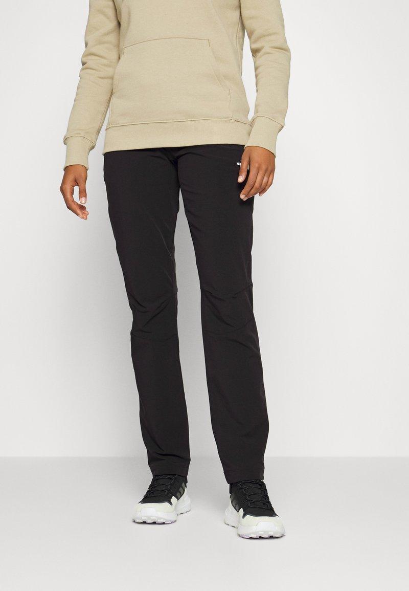 The North Face - DIABLO PANT - Friluftsbukser - black