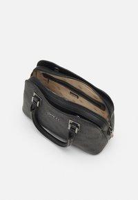 Guess - MIKA SMALL GIRLFRIEND SATCHEL - Handbag - coal - 2