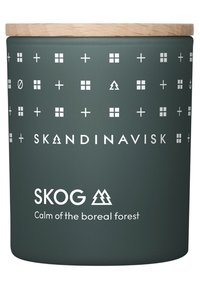 Skandinavisk - SCENTED CANDLE WITH LID - Scented candle - skog - 0