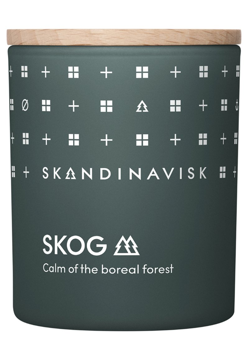 Skandinavisk - SCENTED CANDLE WITH LID - Scented candle - skog