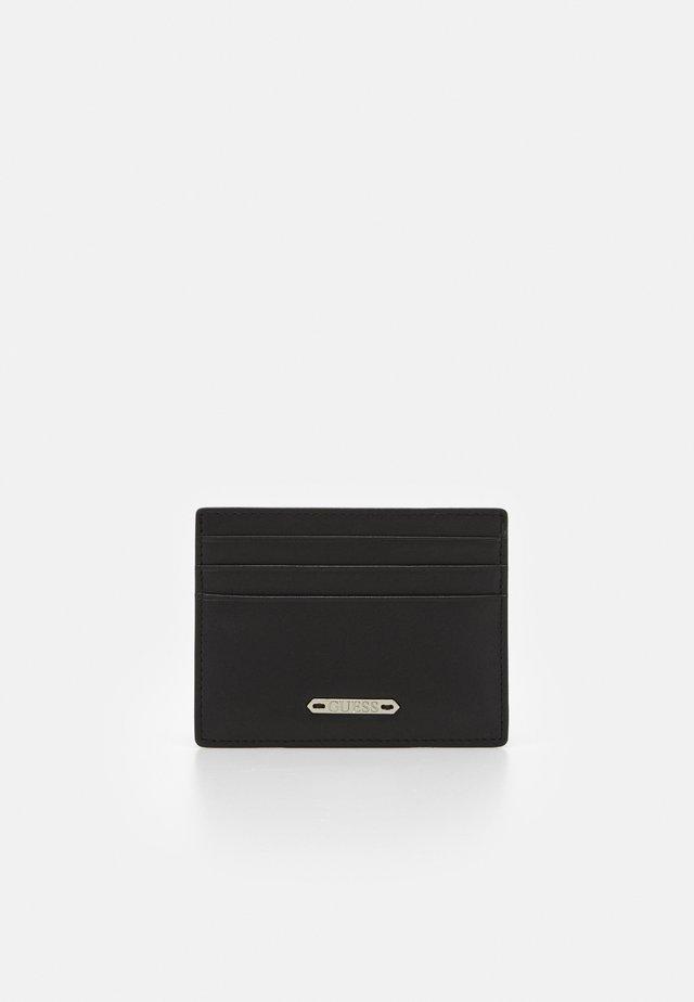 TYLER CARD CASE - Lompakko - black