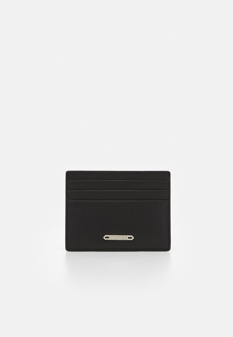 Guess - TYLER CARD CASE - Portemonnee - black