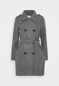ONLY - ONLSANSA COAT - Krátký kabát - dark grey melange - 4