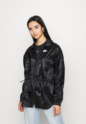 SUMMERIZED - Summer jacket - black/white