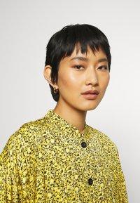 Gestuz - THALLOGZ LONG DRESS  - Shirt dress - yellow - 3