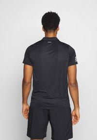 adidas Performance - CLUB - T-shirt de sport - black/white - 2