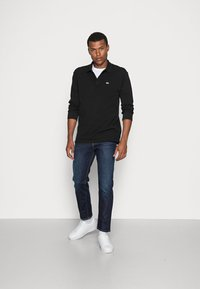 Tommy Jeans - CLASSICS LONGSLEEVE - Polo shirt - black - 1