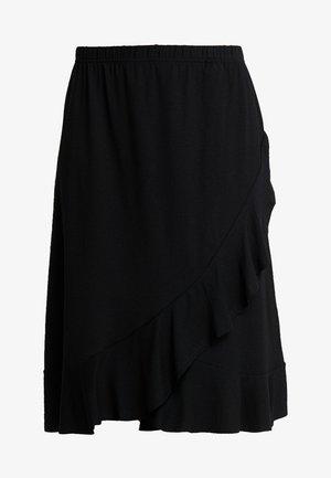 SAPHIRA SKIRT - Wrap skirt - black