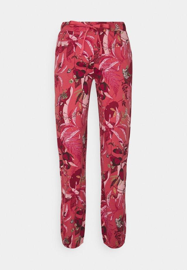 MIX MATCH TROUSERS - Pyjamahousut/-shortsit - baroque rose