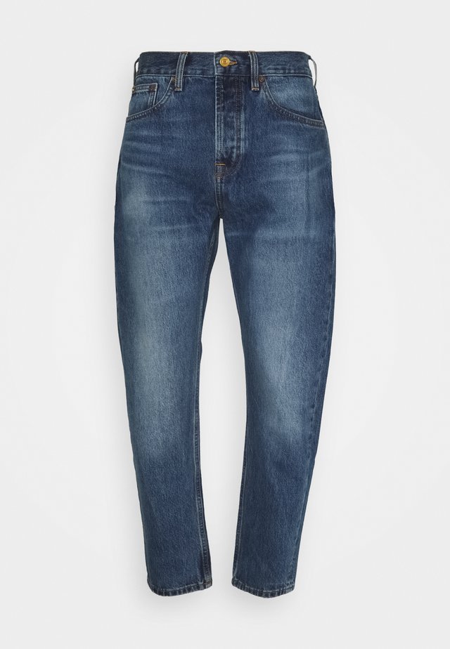 DEAN WASHOUT - Relaxed fit jeans - blue denim