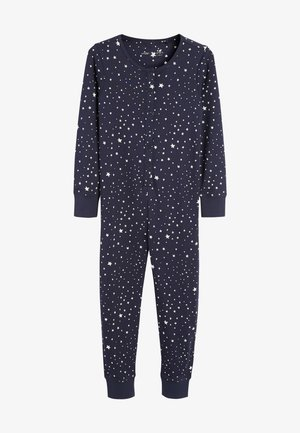 ALL-IN-ONE WITH POPPERS - Pyjamas - blue