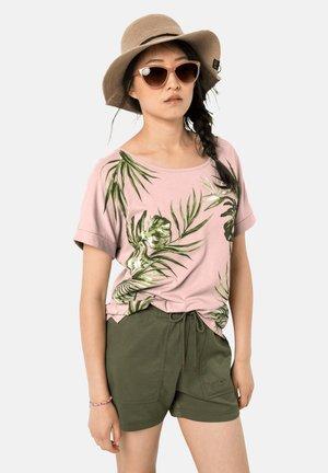 Print T-shirt - blush pink